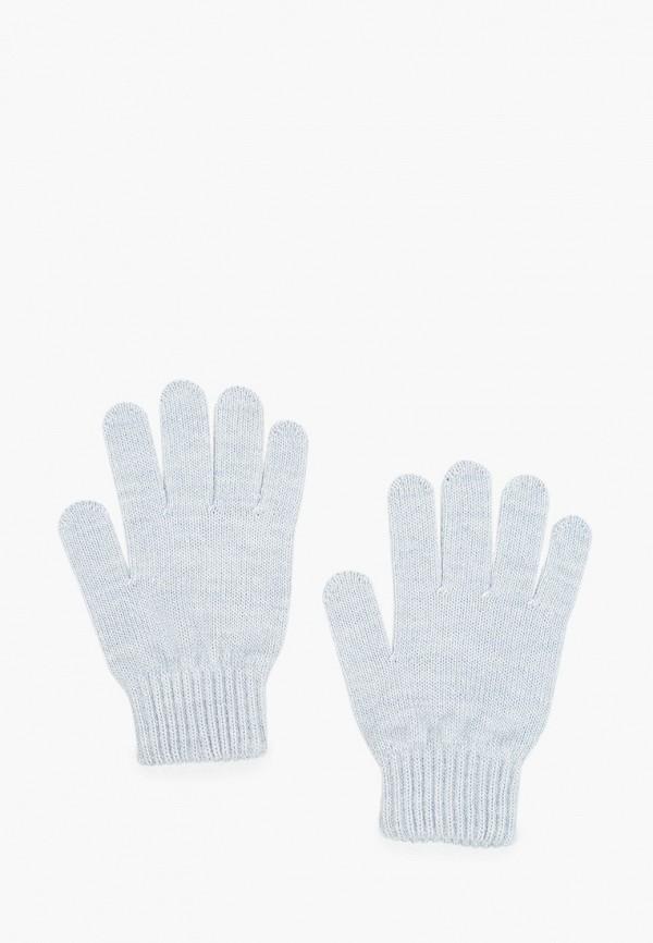 женские текстильные перчатки ferz, голубые