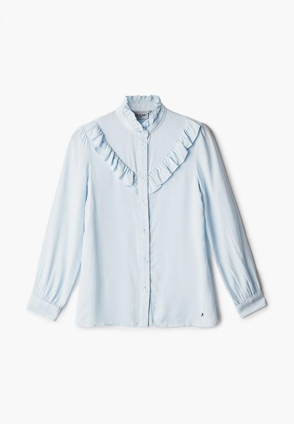 блузка finn flare малыши, голубая