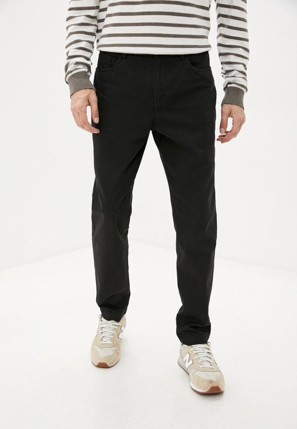 мужские брюки чинос finn flare, черные
