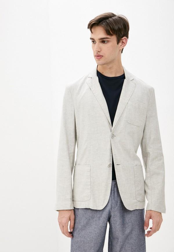 мужской пиджак finn flare, бежевый
