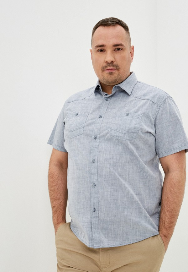 мужская рубашка finn flare, серая