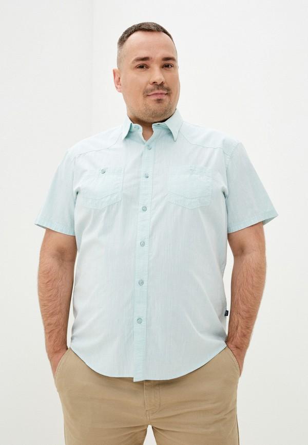 мужская рубашка finn flare, зеленая