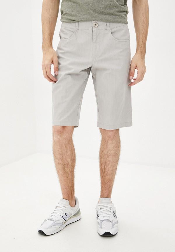 мужские повседневные шорты finn flare, бежевые