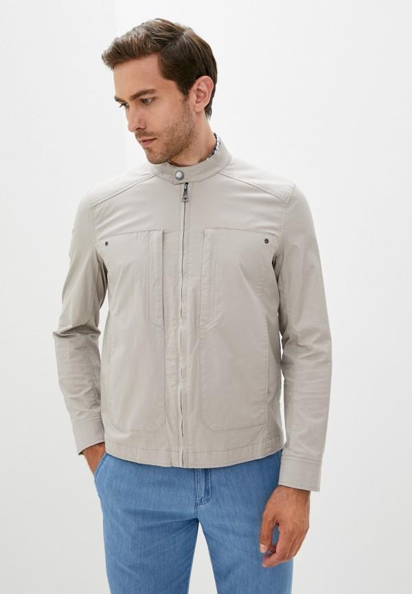 мужская куртка finn flare, бежевая