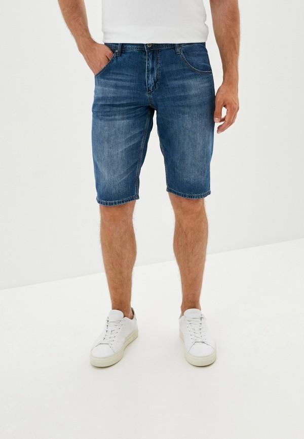 мужские джинсовые шорты finn flare, синие