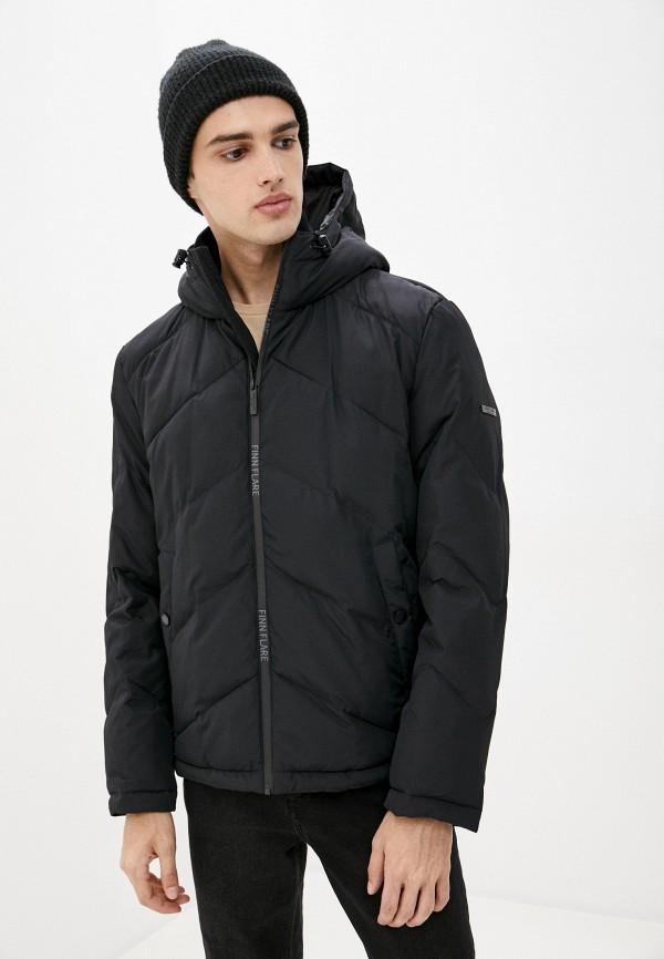 мужская куртка finn flare, черная