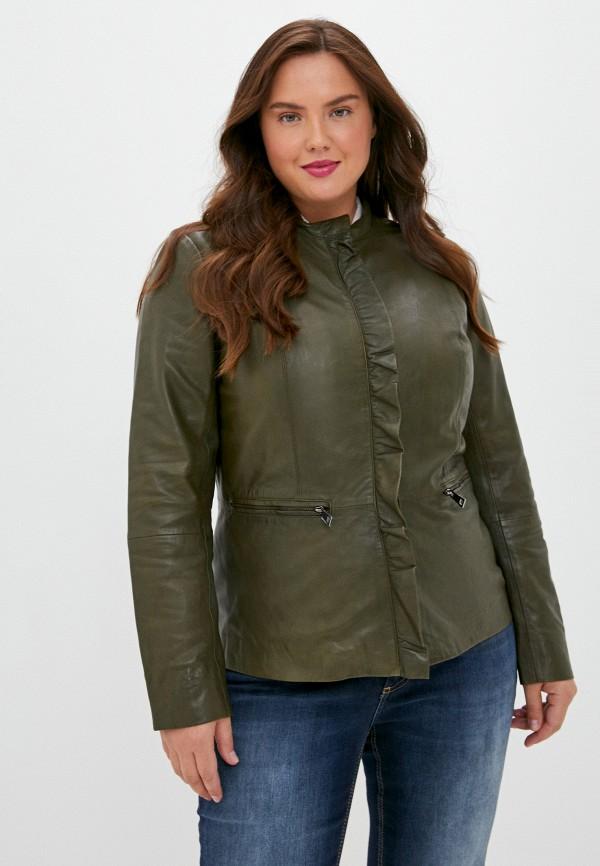 женская куртка finn flare, хаки