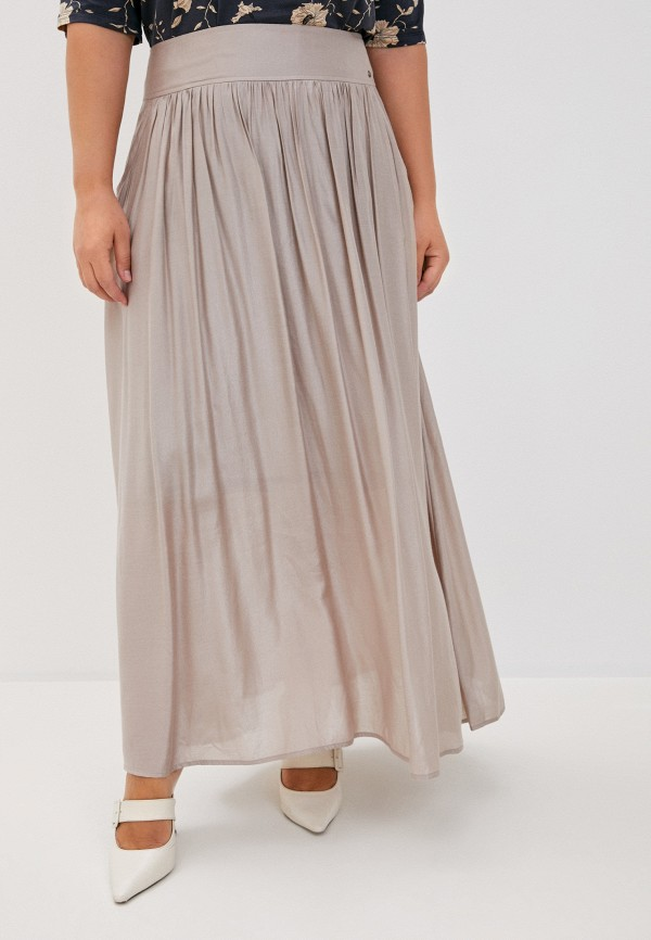 женская юбка finn flare, бежевая