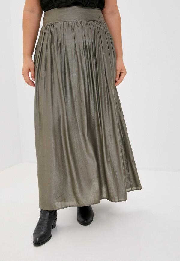 женская юбка finn flare, хаки