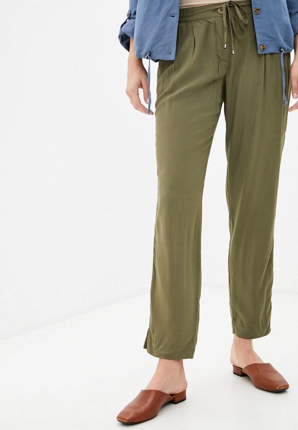 женские повседневные брюки finn flare, хаки