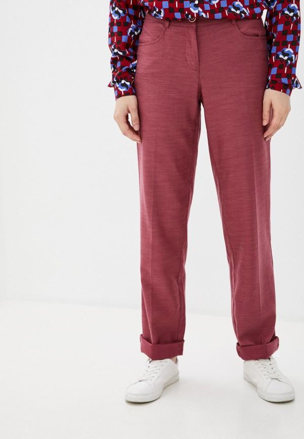 женские повседневные брюки finn flare, розовые