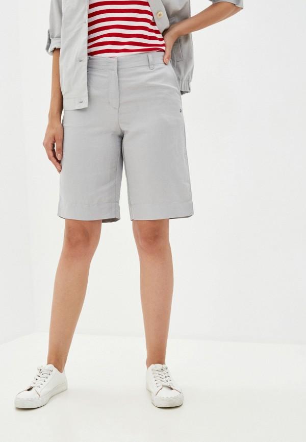 женские повседневные шорты finn flare, серые