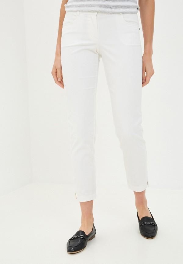 женские повседневные брюки finn flare, белые