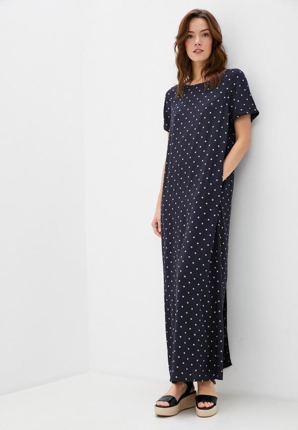 женское повседневные платье finn flare, синее