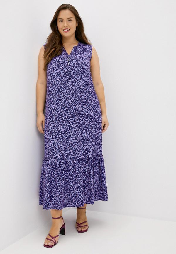 женское повседневные платье finn flare, фиолетовое
