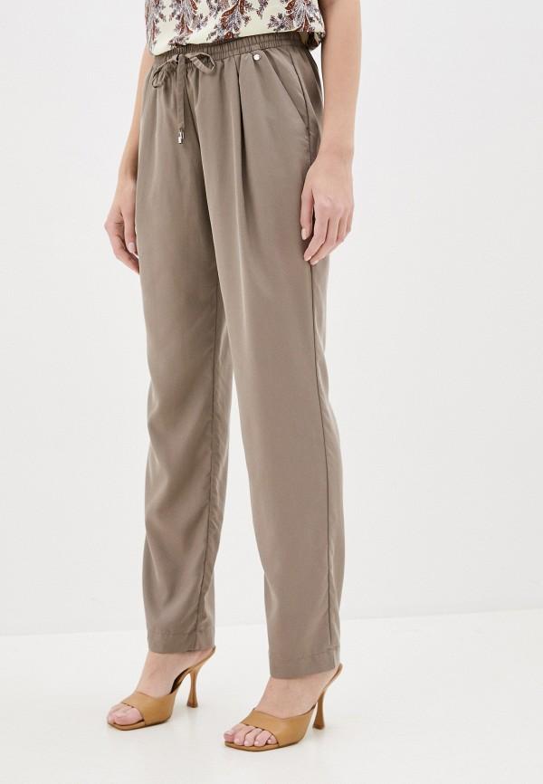 женские брюки finn flare, коричневые