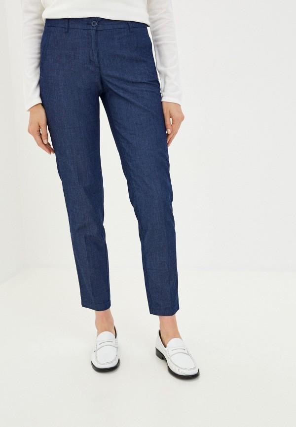 женские повседневные брюки finn flare, синие