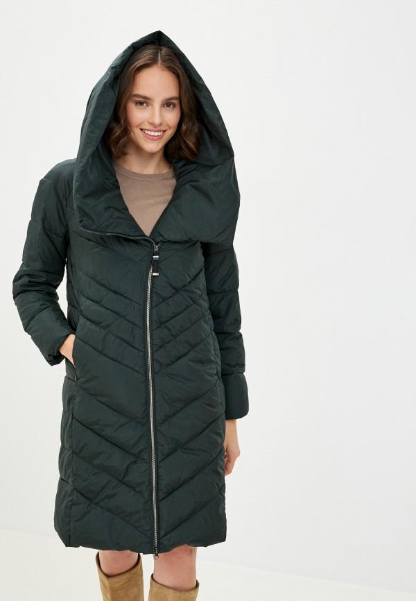 женская куртка finn flare, зеленая