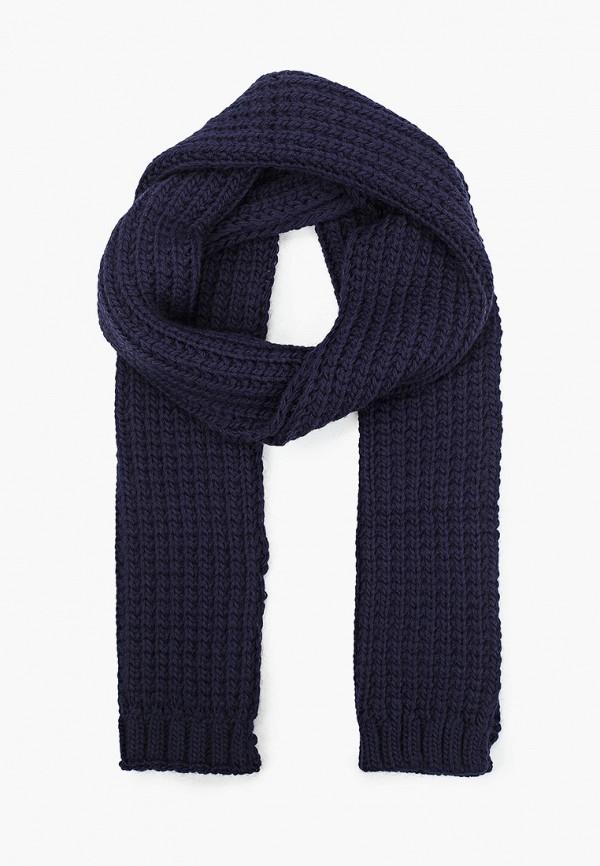 мужской шарф finn flare, синий