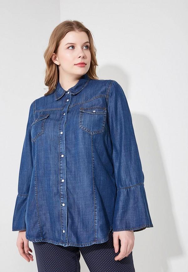 Купить Рубашка джинсовая Fiorella Rubino, fi013ewbeeh1, синий, Весна-лето 2018