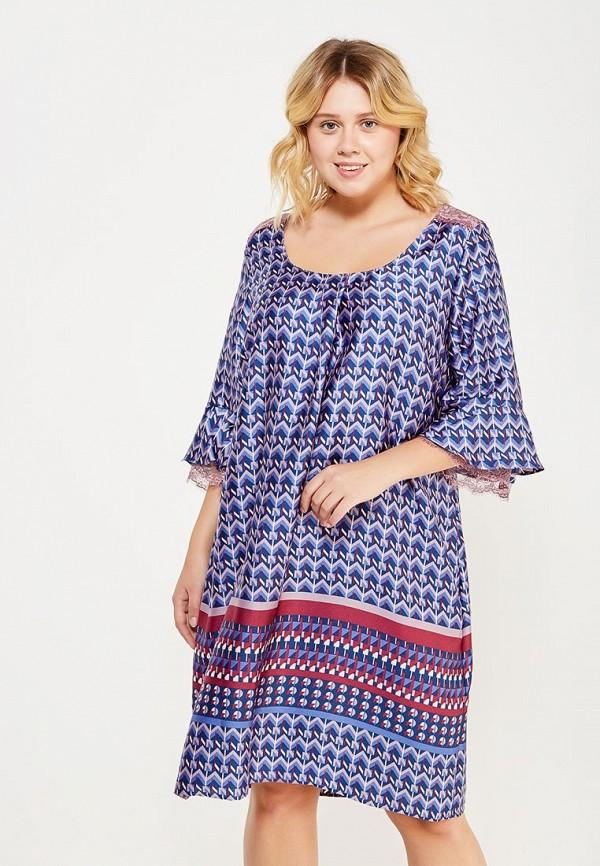 женское повседневные платье fiorella rubino, синее