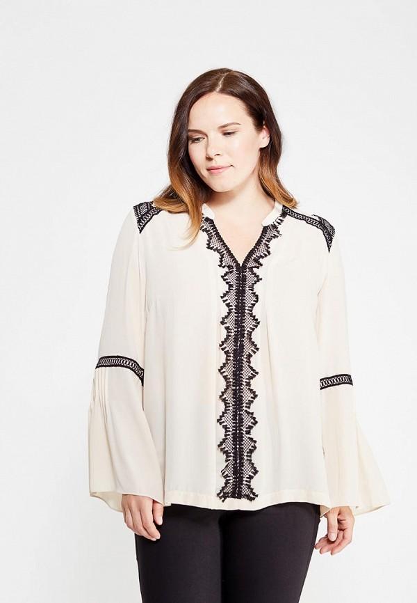 женская блузка fiorella rubino, бежевая