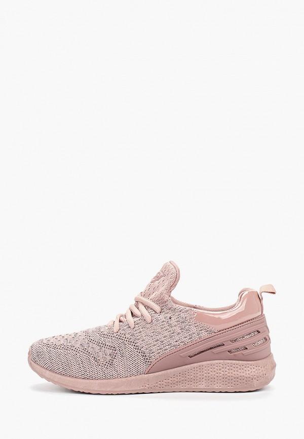 женские кроссовки findlay, розовые
