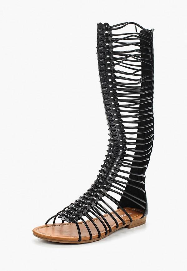 Купить Сандалии Fiori&Spine, FI021AWSZE11, черный, Весна-лето 2018