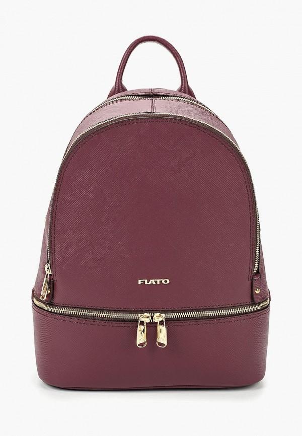женский рюкзак fiato, бордовый