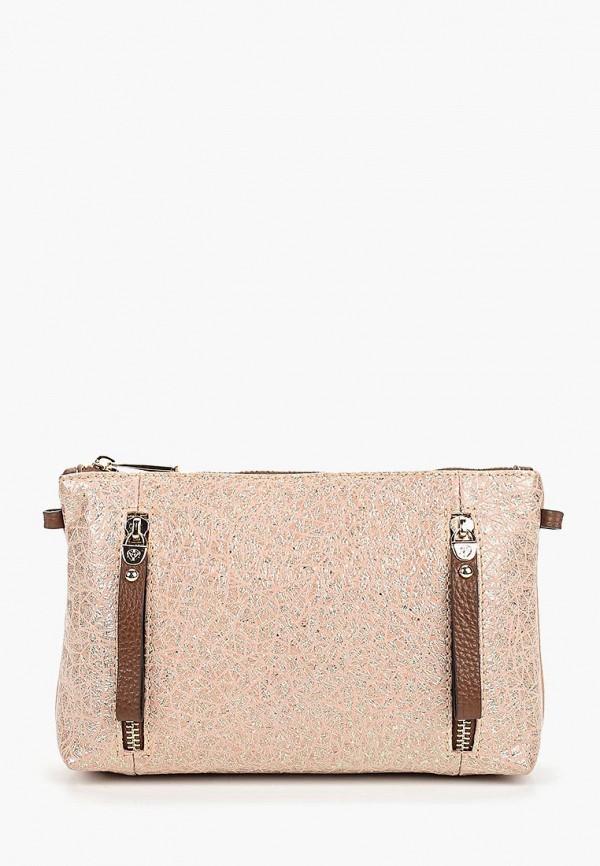 женская сумка fiato, розовая