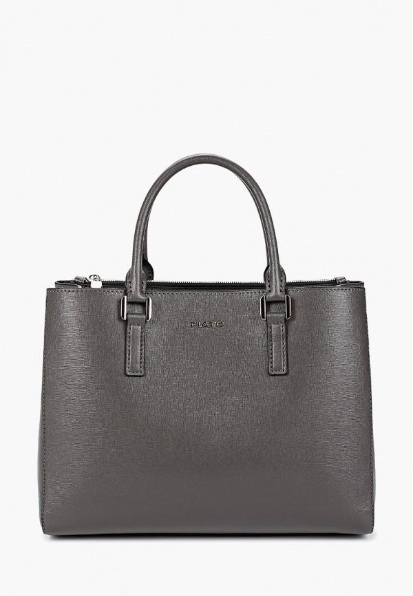 женская сумка fiato, серая