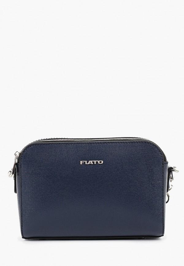 женская сумка fiato, синяя