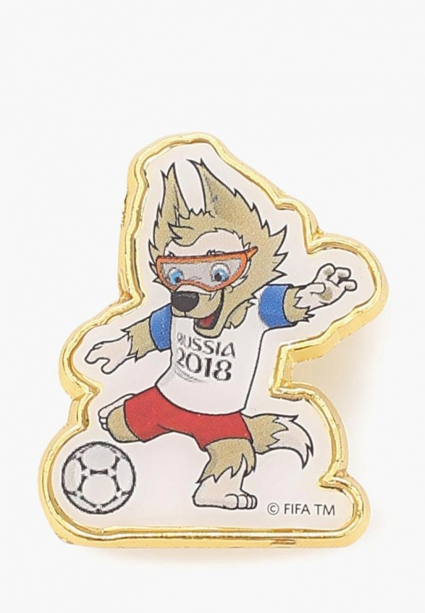 Купить Значок 2018 FIFA World Cup Russia™, FIFA 2018 Zabivaka, fi029dubags5, разноцветный, Осень-зима 2018/2019