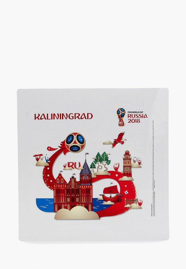Наклейка 2018 FIFA World Cup Russia™ 2018 FIFA World Cup Russia™ FI029DUBGIM1 dhl ems free shipping resin world cup trophy model 1 1 full size resin world trophy cup 1 1 5kg height 36cm