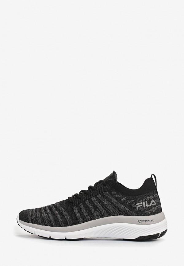 мужские кроссовки fila, черные