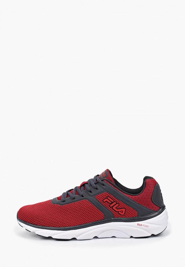 мужские кроссовки fila, красные