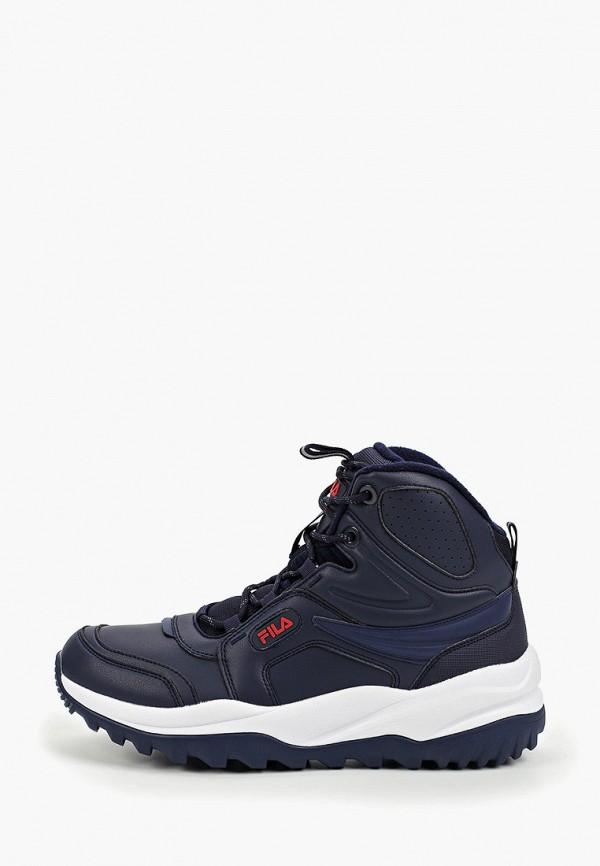 мужские кроссовки fila, синие