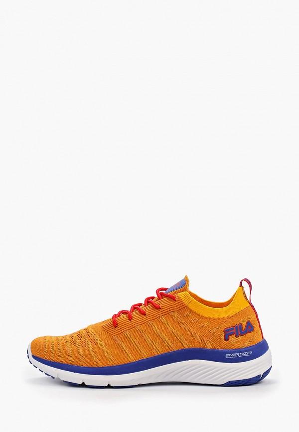 мужские кроссовки fila, оранжевые