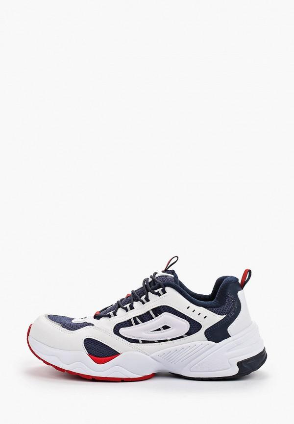 мужские кроссовки fila, белые