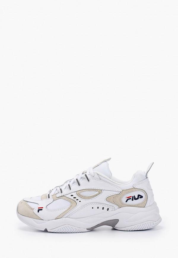 мужские низкие кроссовки fila, белые