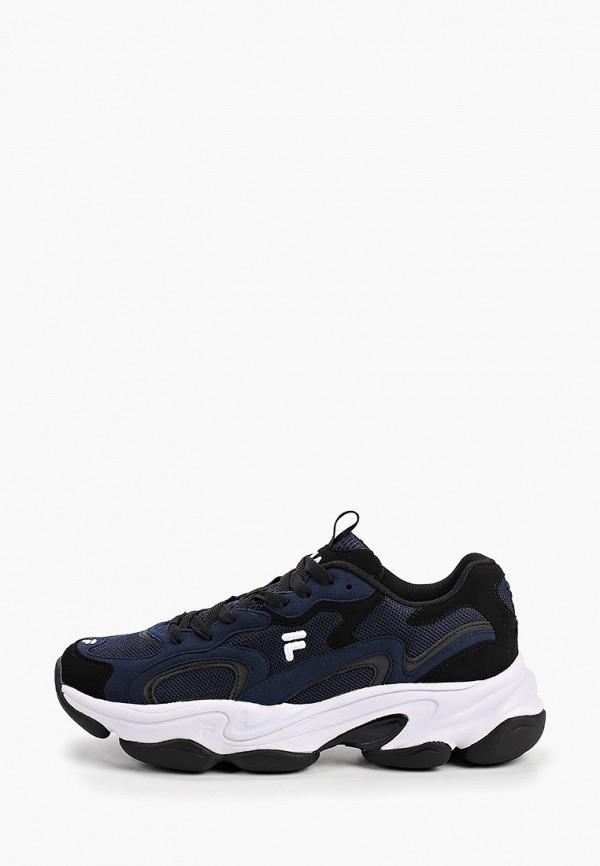 мужские низкие кроссовки fila, синие