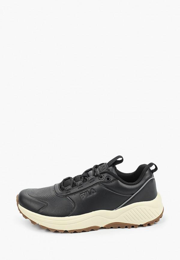 мужские низкие кроссовки fila, черные