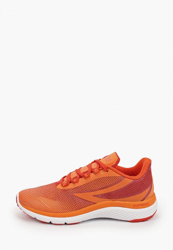 мужские низкие кроссовки fila, оранжевые