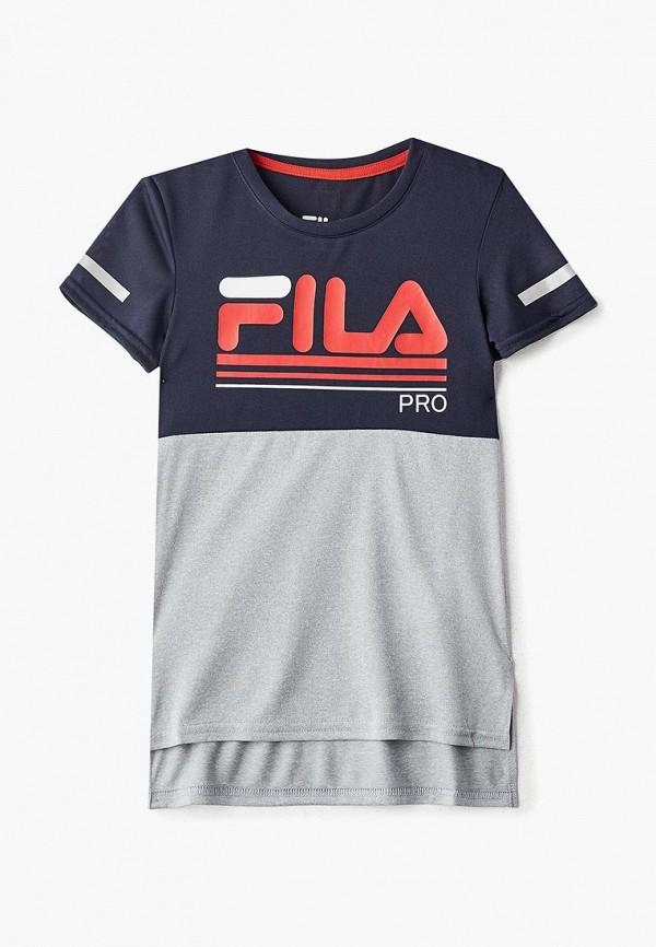 Футболка Fila Fila FI030EBEJDE0 футболка для девочки fila цвет белый a19afltsg02 00 размер 164