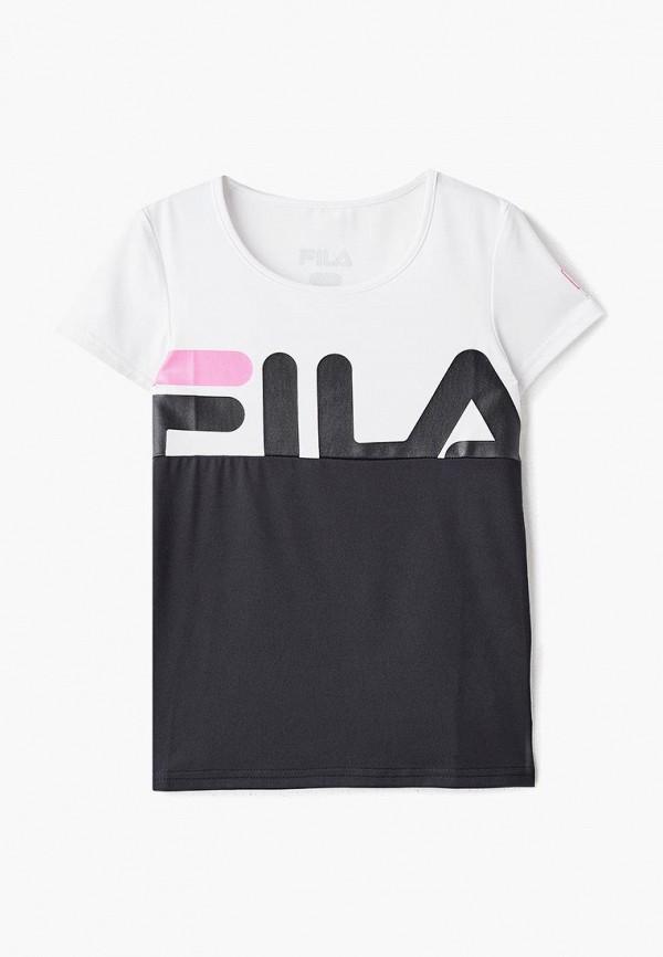 Футболка Fila Fila FI030EGEJDY2 футболка для девочки fila цвет белый a19afltsg02 00 размер 164