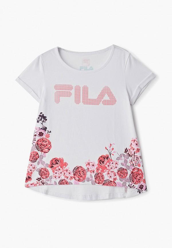 Футболка Fila Fila FI030EGFGHJ8 футболка для девочки fila цвет белый a19afltsg02 00 размер 164