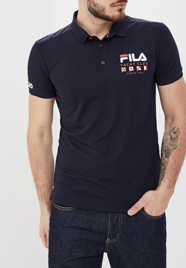 где купить Поло Fila Fila FI030EMEJGW5 по лучшей цене
