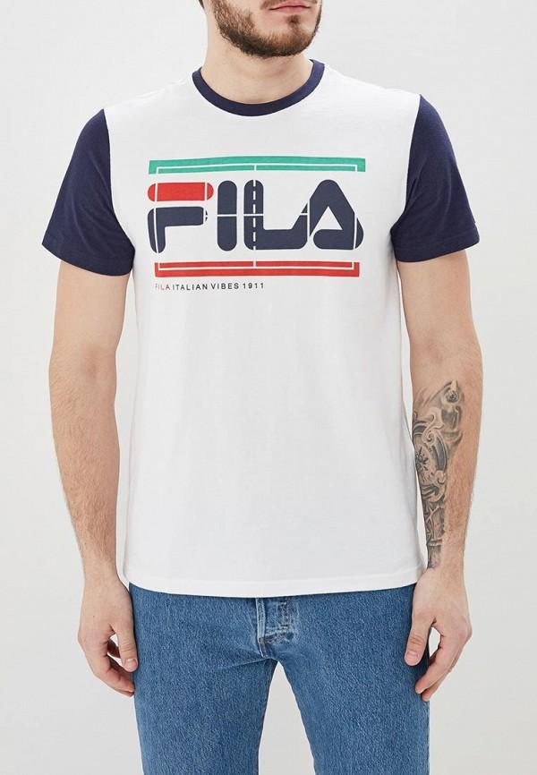 Футболка Fila Fila FI030EMEJGZ3 футболка для девочки fila цвет белый a19afltsg02 00 размер 164