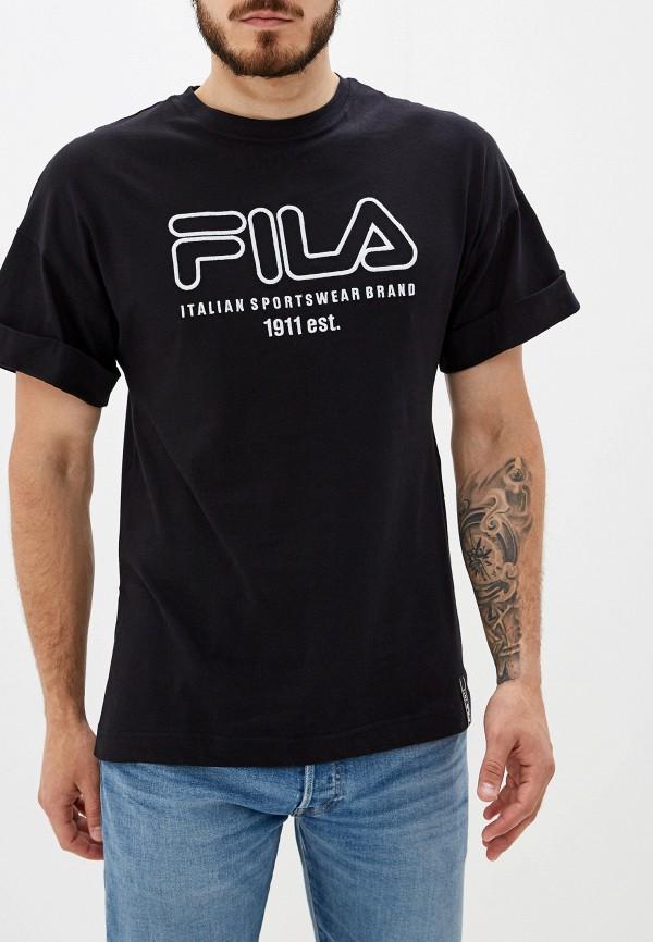 Футболка Fila Fila FI030EMGEZP5 футболка для мальчика fila цвет черный a19afltsb03 99 размер 164