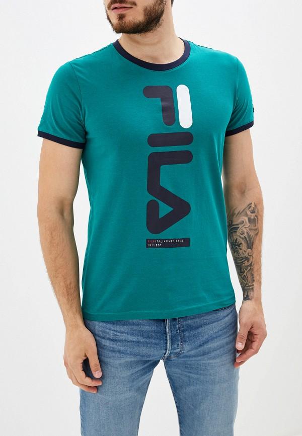 Футболка Fila Fila FI030EMGEZS1 футболка для девочки fila цвет сапфировый a19afltsg04 z3 размер 140
